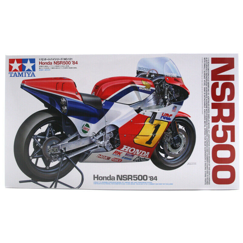 Tamiya Honda NSR500 '84 Motorbike Model Set (Scale 1 12) - 14121 - NEW