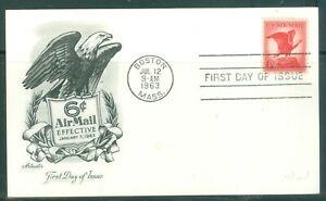 US-FDI-POST-CARD-6c-Airmail-EFECTIVE-JAN-7-1963-CANCL-JUL-12-1963-BOSTON-MASS