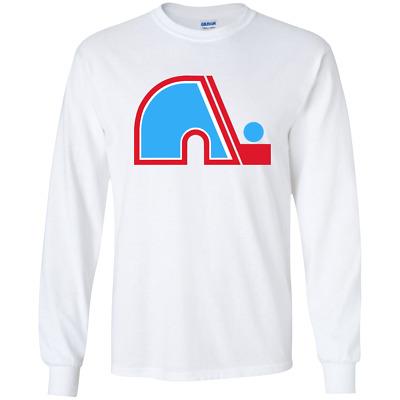 1970/'S IHL Retro Quebec Nordiques Hoodie Jersey Logo Hockey