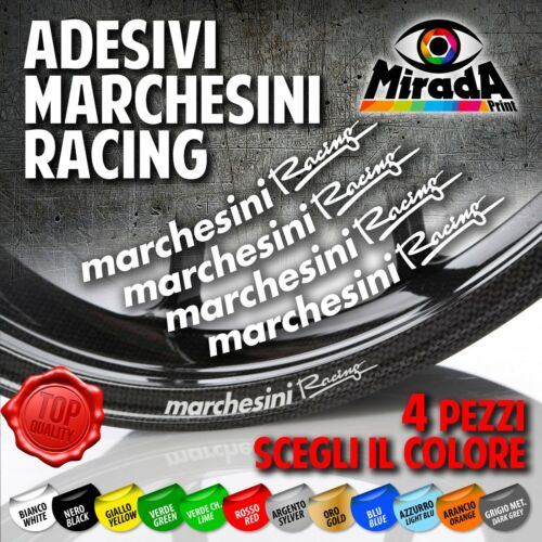 4 Stickers Decals Moto Marchesini Racing Top Quality Wheel Ducati Aprilia Best