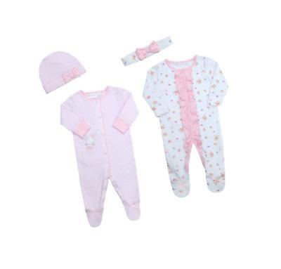 Newborn Baby Boy Girl 100/% Cotton Sleepsuit All-in-one Babygrow  0-6 Months