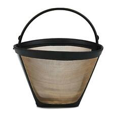 NEW Universal Gold Tone Permanent #4 Cone Coffee Filter Cuisinart, Krups