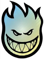 SpitFire Prism Bighead Skateboard Sticker SMALL 1.5in si