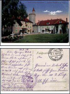 1916-Feldpostkarte-1-Weltkrieg-World-War-Grande-Guerre-I-Chatillon-bei-CIREY
