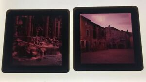 COLOR-PHOTO-SLIDE-2-3-4-x-2-3-4-034-4-Beautiful-Sculpture-amp-Buildings-Lot-Of-2