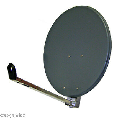 45cm KEIN VERSAND Sat Spiegel  Schüssel Antenne 80cm antrazit Abholung Kaarst