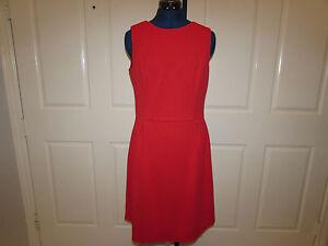 b8f52802362 NEW w Tag-Women s Red CHAPS Sleeveless Dress Sz 12