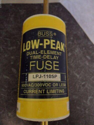 New Bussmann LPJ-110SP 110 Amp Fuse Class J Low Peak