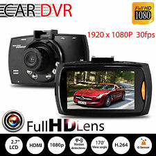 HD 1080P Car Camera Dash Cam Video Recorder 2.7'' G-sensor Night Vision*