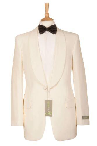 Para Hombre Nuevo Blanco Marfil Boda PROM crucero Vestido Bola Smoking Tux Partido Chaqueta