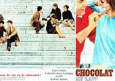 PUBLICITE ADVERTISING 086  1964  le chocolat au lait ( double page)