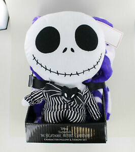 The Nightmare Before Christmas Jack Toys Throw Blanket