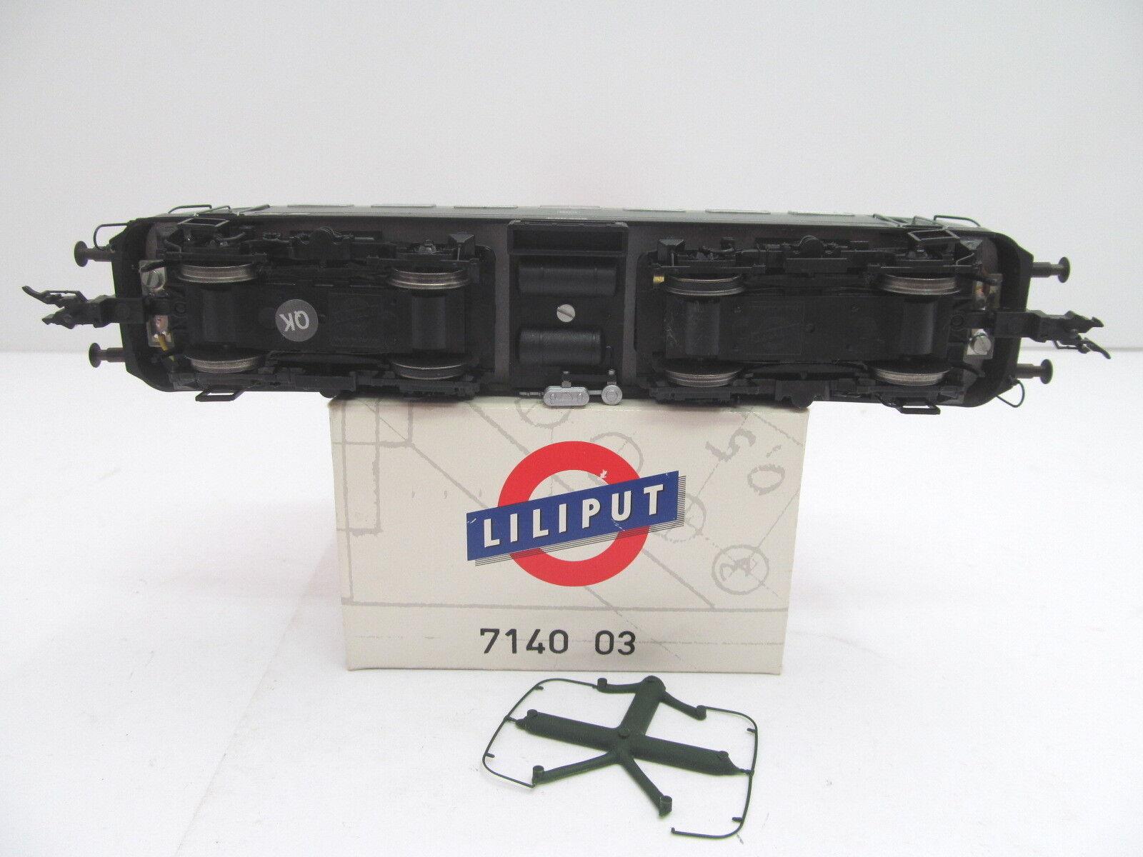 MES-44213 Liliput 714003 H0 E-Lok DB E40 298 sehr guter guter guter Zustand,Funktion geprüft  | Wunderbar  2be0f4