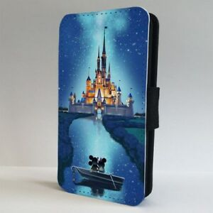 Disney-Castle-Magical-Minnie-Mickey-FLIP-PHONE-CASE-COVER-for-IPHONE-SAMSUNG