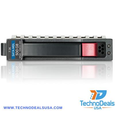 507750-B21//508035-001HP 500 GB Plug-In Module,7200 RPM Hard Drive