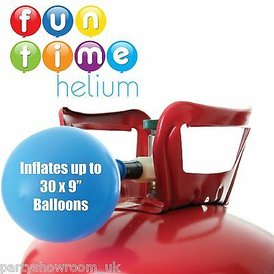 Helium Disposable Gas Cylinder Canister Fills 30 Balloons Birthday Party
