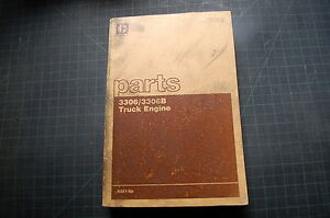 cat 3306 technical manuals
