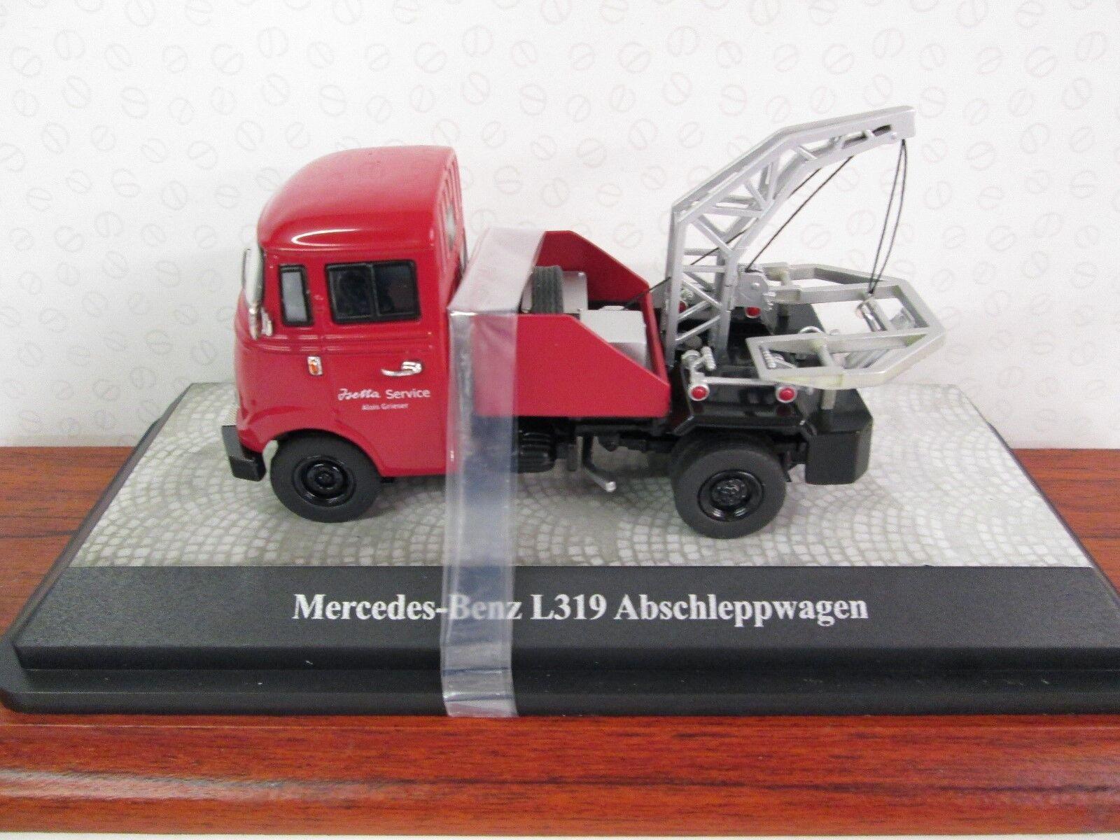 PREMIUM CLASSIXX. Mercedes Benz L319. 1:43. Isetta Service De Récupération Camion. 18202 | Promotions  | Outlet  | Outlet Online  | Promotions
