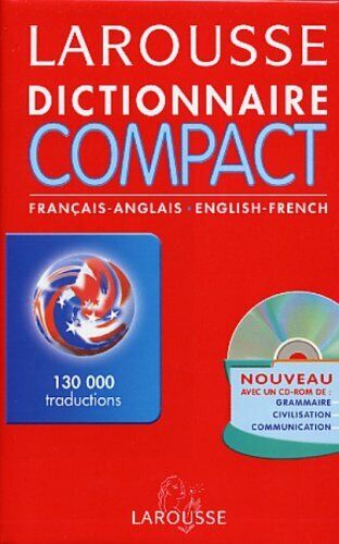 Larousse Dictionnaire Compact Francais Anglais Anglais Francais: ... by Larousse