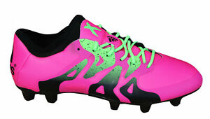 black and pink football boots