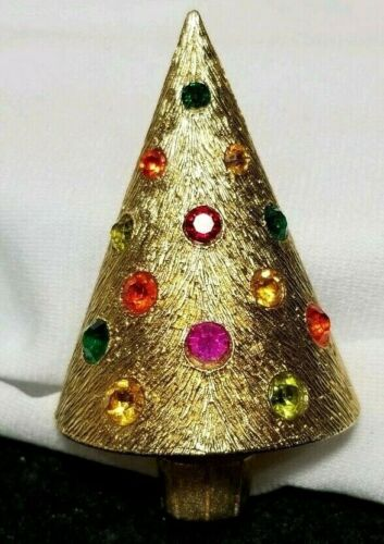 Gold Silver Enamel WRhinestone /& Faux Pearl Accent Holiday/'s X-Mas Jewelry Accessories Candle Lights Deer Christmas Tree Cane Brooches Pins