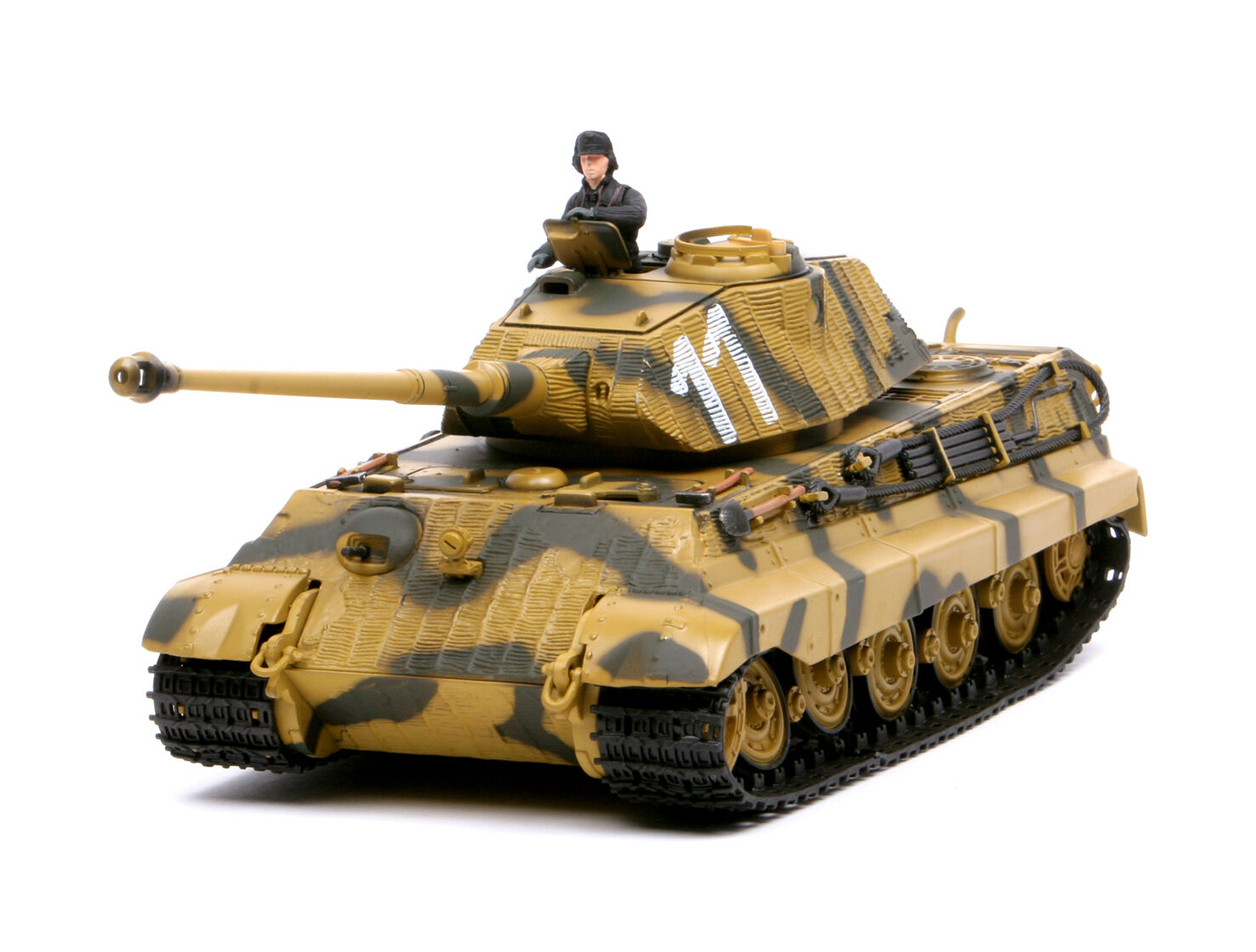 Forces of Valor 1 32,    EXTRA RARE    GERMAN Roi Tiger 1944, Art.  80077