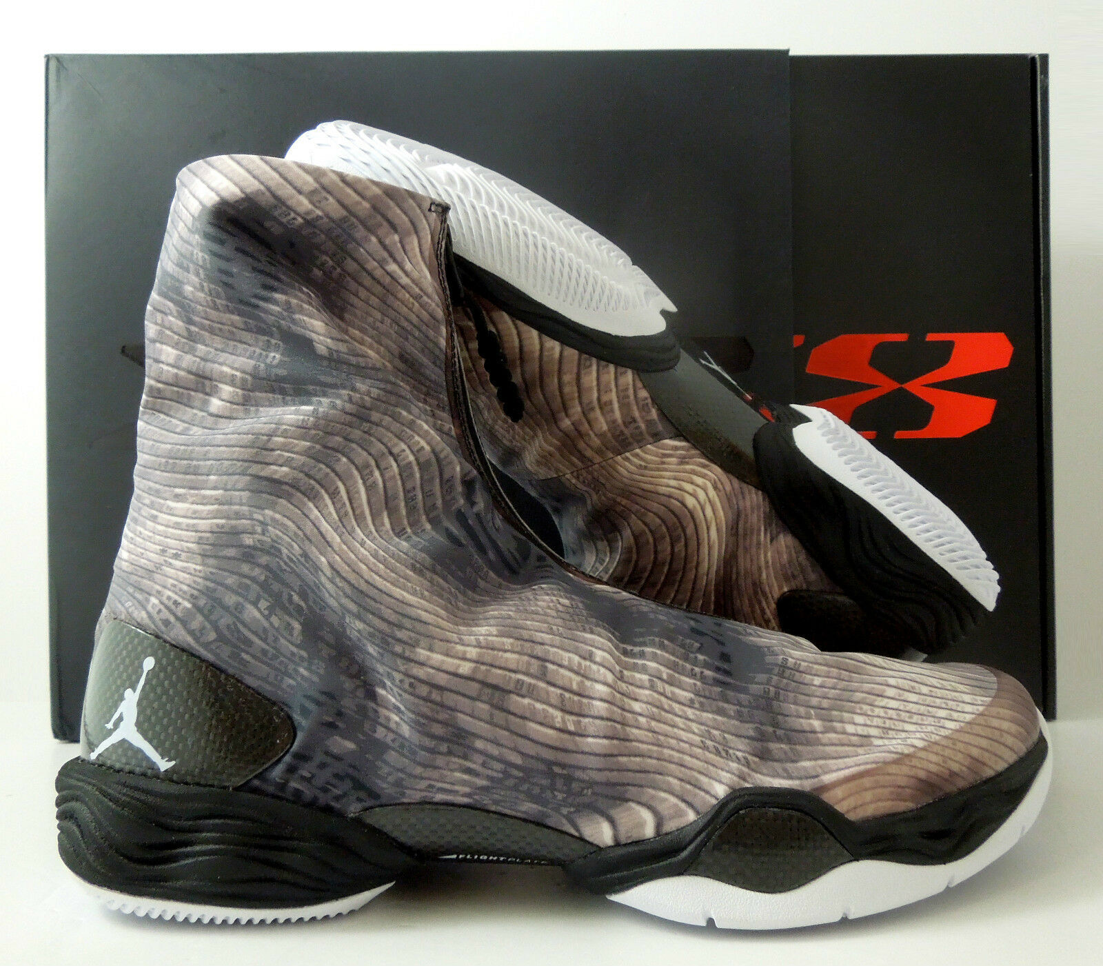 NIKE BLACK-WHITE AIR JORDAN XX8