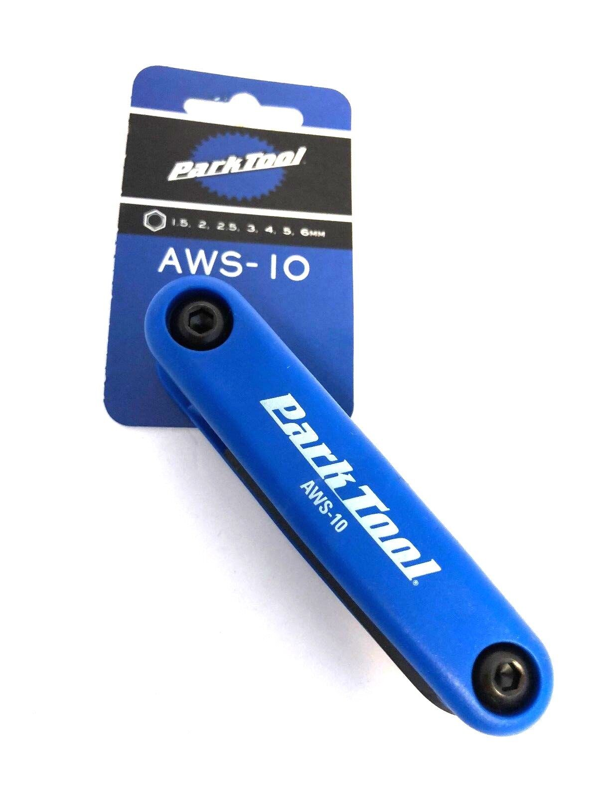 Park Tool AWS-10 Metric Folding Allen Hex Wrench 1.5-6mm Bicycle Multi-Tool