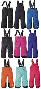 Kinder-Skihose-Snowboardhose-Schneehose-Winterhose-Thermohose-Jungen-Madchen-Z