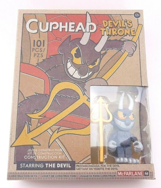 McFarlane Toys Building Small Set - Cuphead S1 - DEVIL'S THRONE