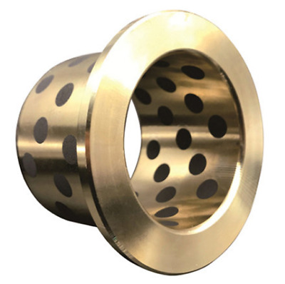 brass flanged self-lubricating oil bearing bushing graphite copper sets 24mm OD
