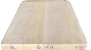 Alder-2-pc-Body-blank-19-x-15-x-1-78-Sanded-Kiln-Dried-Clean-Color-9-05-LB