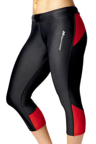 Femme Leggings Fitness Running Gym Exercice Yoga Pantalon Capri Active Sports