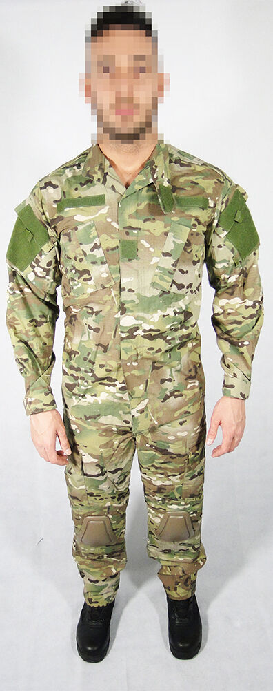 Uniform combat Multicam complete with kneepads elbow