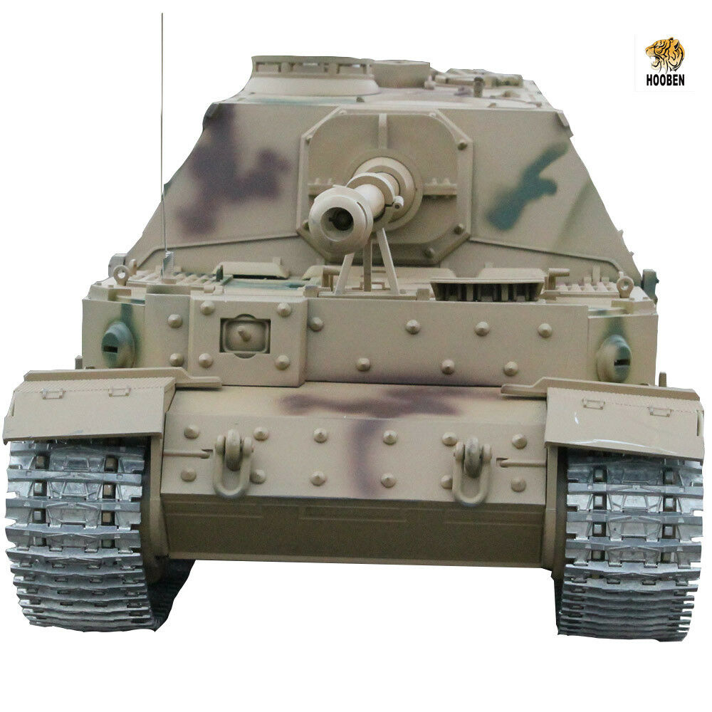 Hooben 1 16 R C Deutsch Elefant JAGDPANZER Tank voller -Option Zerstörer T Kit