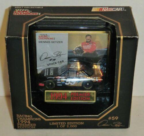 Dennis Setzer #59 Alliance 1994 1//64 Racing Champions Premier Edition Monte