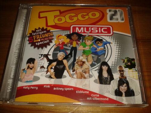 1 von 1 - CD + Videos  Toggo Music 21 Hits Nena Katy Perry Peter Fox Rihanna Eisblume Ötzi