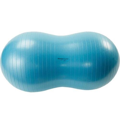 * Meilleur Prix Pilates Anti-burst ovale Peanut-en forme de Swiss Ball-Bleu