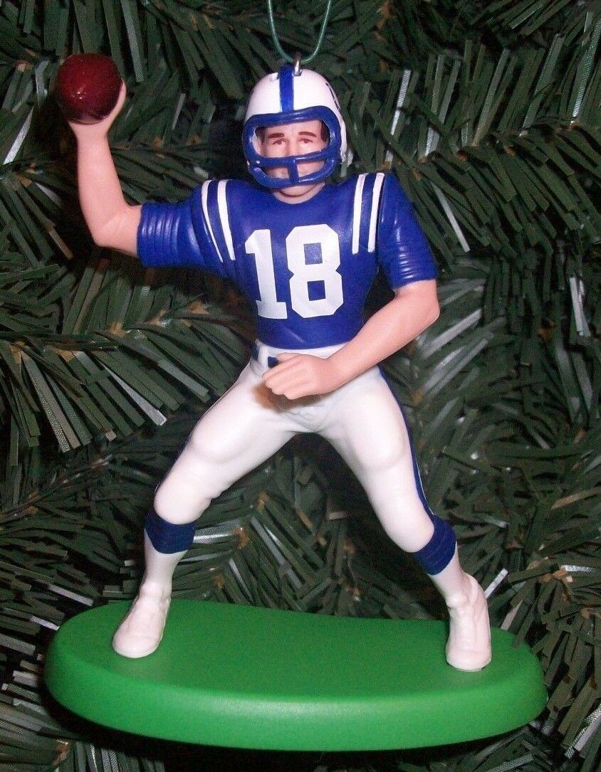 Peyton Manning Indianapolis Colts Christmas Tree Ornament