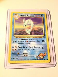 MISTY-S-DEWGONG-Gym-Challenge-54-132-Uncommon-Pokemon-Card-NM