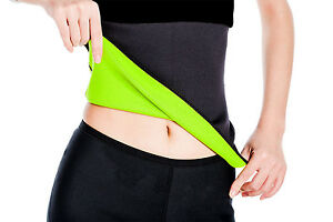 Hot Women Neoprene Body Shaper Set Slim Waist Pants Belt Yoga Sweat Shapers New