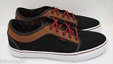 Vans Mens Chukka Low Leather Black Brown VN-0U0GB4F SIZE: 6.5