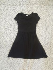 b35badbc1e92b9 Old Navy Women s Black Fit and Flare Sheath Cap Sleeve Dress Size XS ...