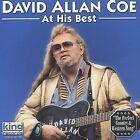 At His Best by David Allan Coe (CD, 2002, King)
