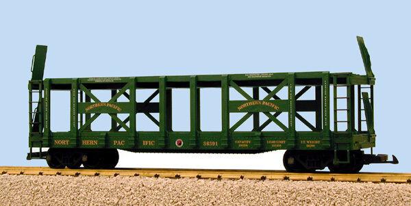 USA Trains Escala G R17231 Pacífico Norte de dos niveles Auto Cocherier