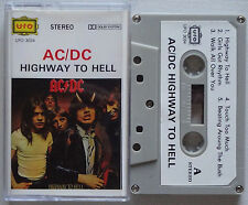 AC/DC Highway To Hell RARE!! Tape INDONESIA Cassette UFO (ACDC) BON SCOTT