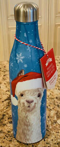 Christmas-Llama-Stainless-Steel-25oz-Stainless-Steel-Insulated-Water-Bottle