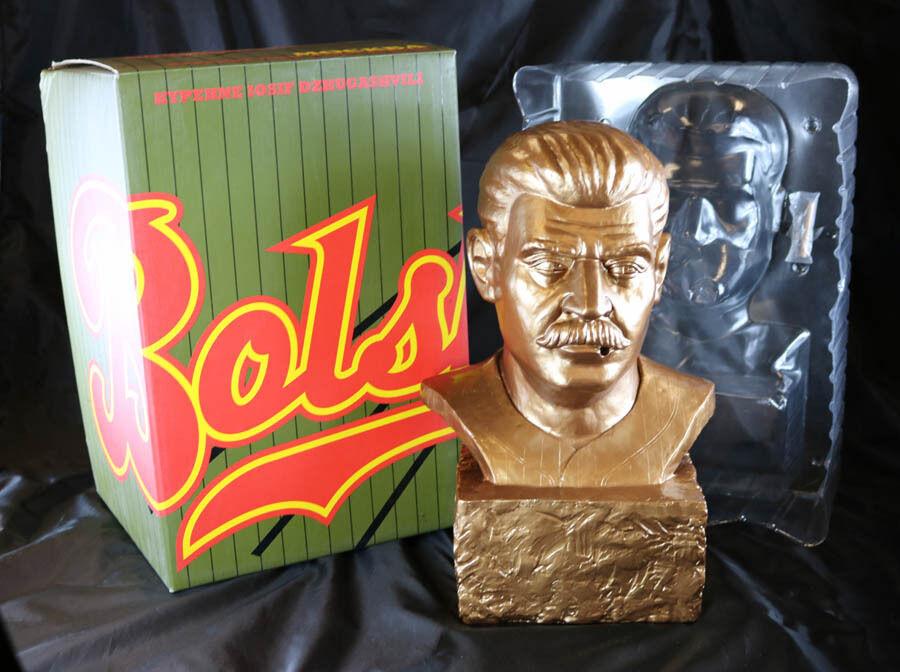Frank Kozik signé 2007 14  Bronze Smorkin Joe Staline BUST Limited Edition 50 dédicacé NEUF