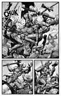 SEAN PATTY original art, WORGARD VIKING BERSERKER, 11x17, 2011, Battle, pg 20