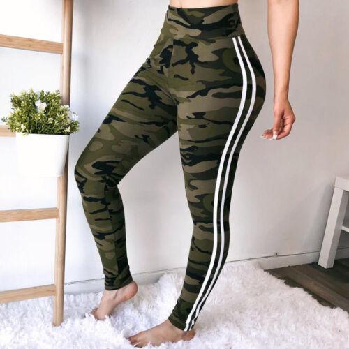 Hot Women/'s Butt Lift Pants High Waist Yoga Compression Leggings Black Trousers
